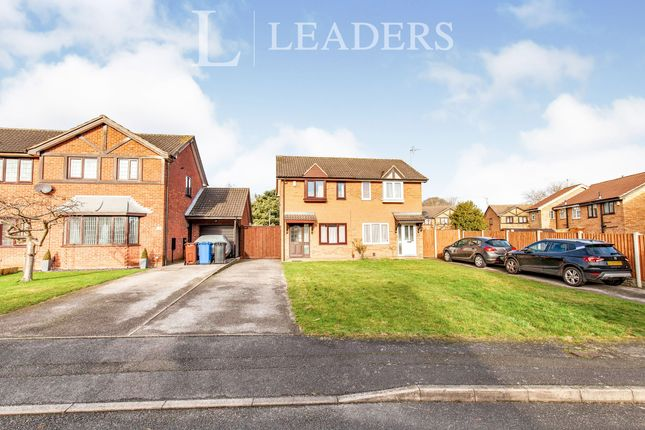 Thumbnail Semi-detached house to rent in Partridge Way, Mickleover, Derby