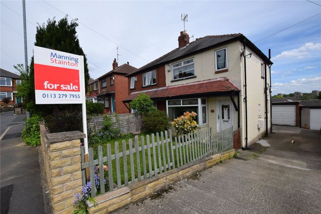 Thumbnail Semi-detached house for sale in Hare Park Mount, Farnley, Leeds
