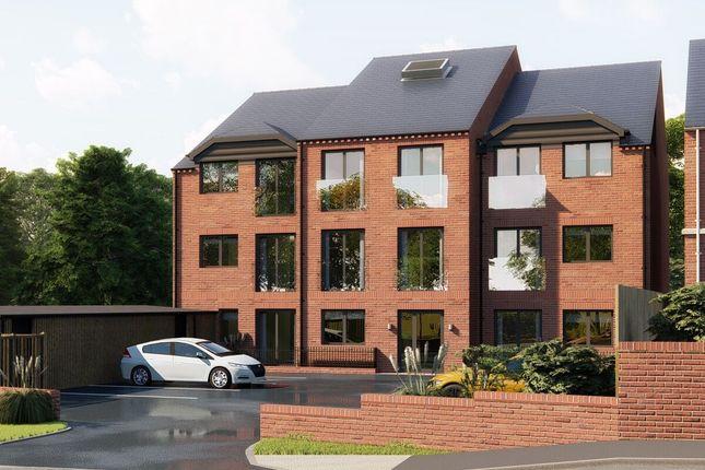 Thumbnail Flat for sale in Aura, Hallfield Road, York