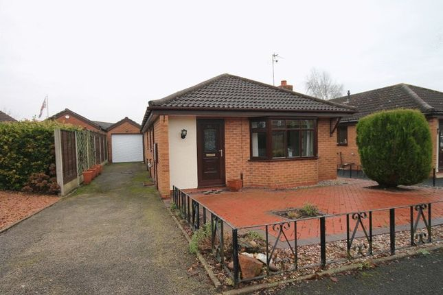 Thumbnail Detached bungalow for sale in Country Meadows, Market Drayton