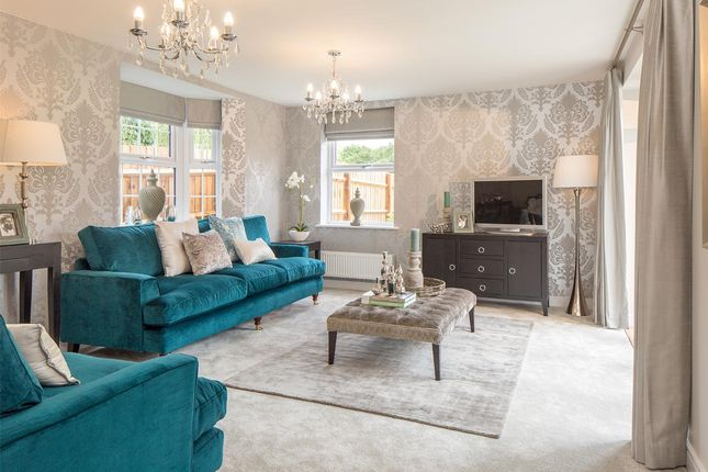 "Thumbnail Detached house for sale in ""Layton"" at Alethea Farm Place, Tilbury Road, Tilbury Juxta Clare, Halstead"