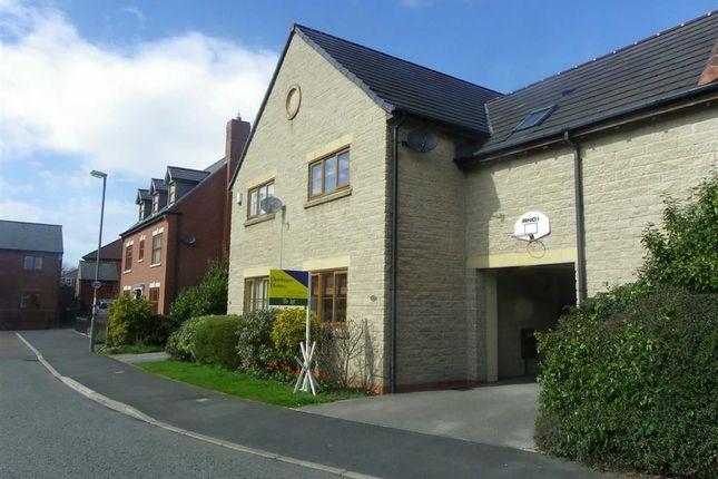 Thumbnail Town house to rent in Douglas Lane, Grimsargh, Preston
