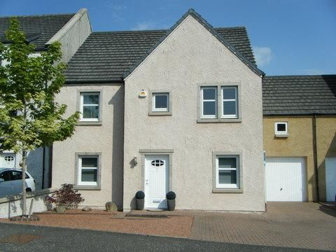 Thumbnail Link-detached house for sale in Bridgend, Stewarton, Kilmarnock, East Ayrshire