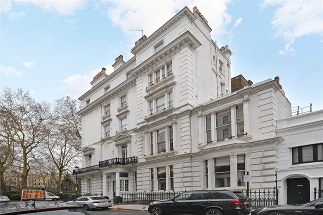 Exterior of Courtfield Gardens, South Kensington, London SW5