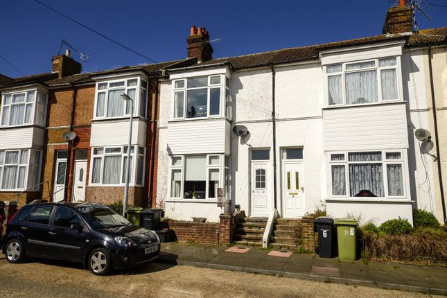 Thumbnail Terraced house for sale in Claremont Road, Bexhill-On-Sea