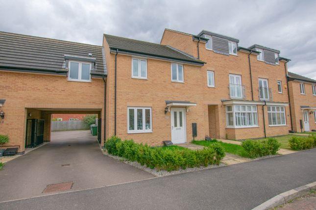 3 bed terraced house for sale in Fletcher Way, Gunthorpe, Peterborough PE4