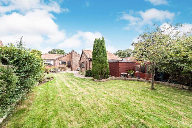 Thumbnail Detached bungalow for sale in Wolviston Road, Wolviston Village, Billingham