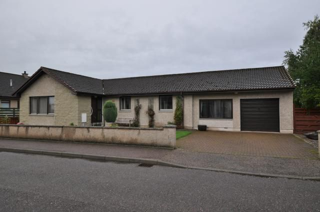 Thumbnail Bungalow for sale in 3 Darklass Place, Dyke, Forres