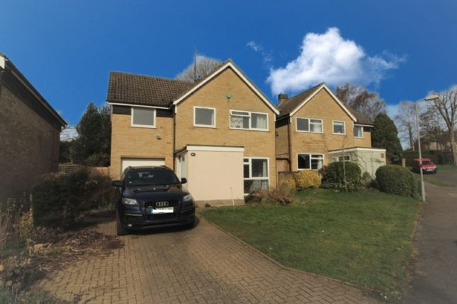 Thumbnail Detached house for sale in Malting Close, Stoke Goldington, Newport Pagnell