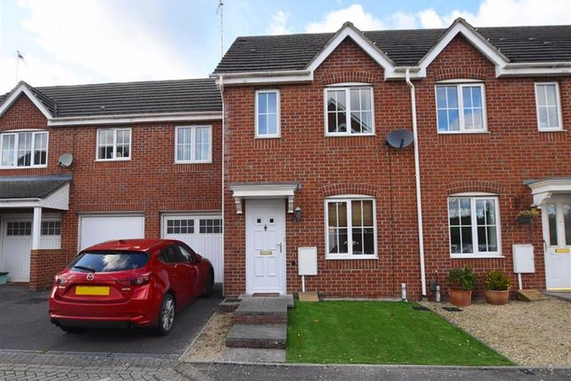 Thumbnail Terraced house for sale in Cypress Gardens, Longlevens, Gloucester