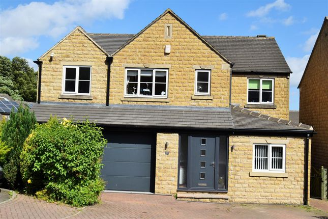 Thumbnail Detached house for sale in Upper Hall View, Northowram, Halifax