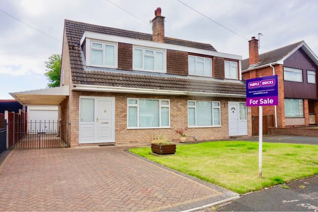 Thumbnail Semi-detached house for sale in Elmpark Drive, Telford