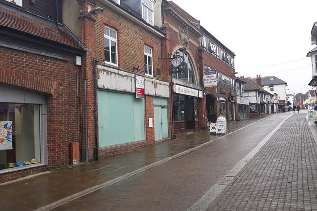 Thumbnail Retail premises to let in 21 High Street, Leatherhead