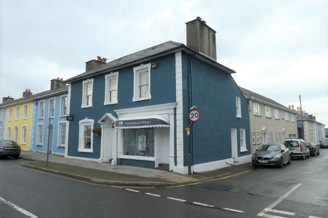 Thumbnail Commercial property for sale in 6 North Road, Aberaeron