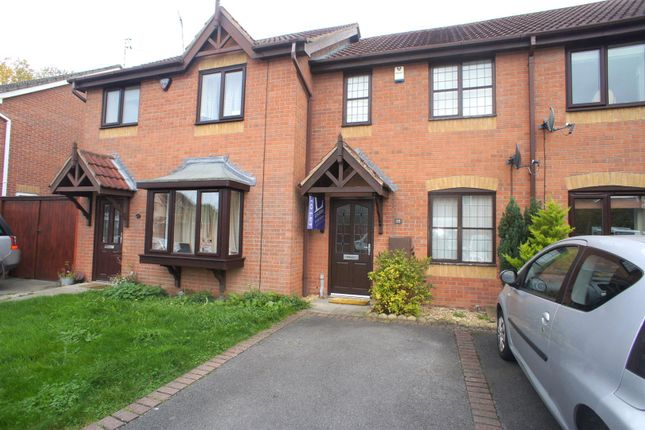 Thumbnail Terraced house to rent in Cranhill Close, Littleover, Derby