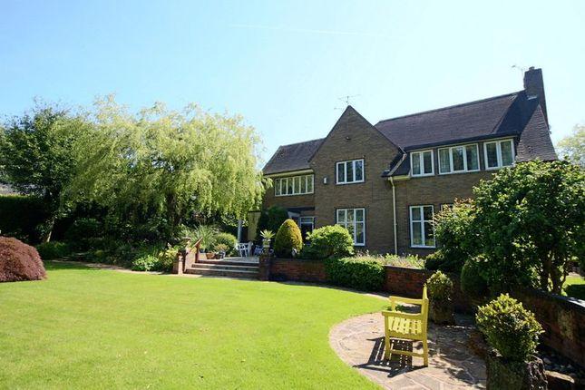Thumbnail Detached house for sale in Bedcroft, Barlaston, Stoke-On-Trent