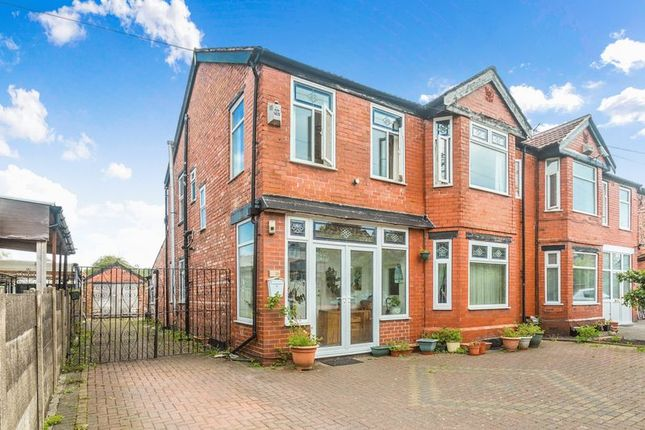 Thumbnail Semi-detached house for sale in Egerton Road North, Chorlton Cum Hardy, Manchester