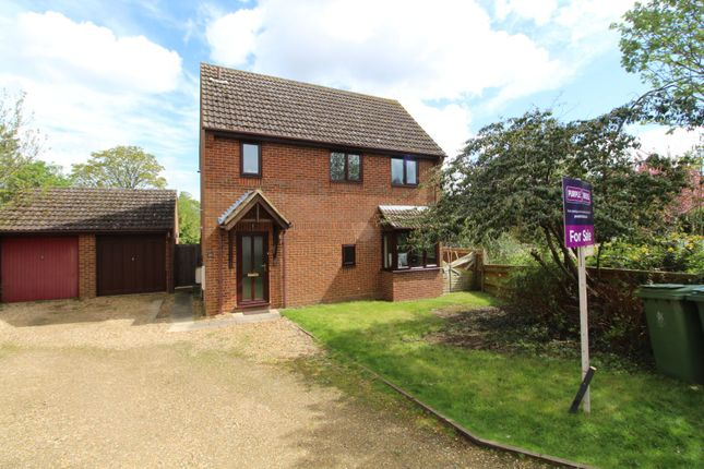 Thumbnail Detached house for sale in North Close, Drayton Parslow