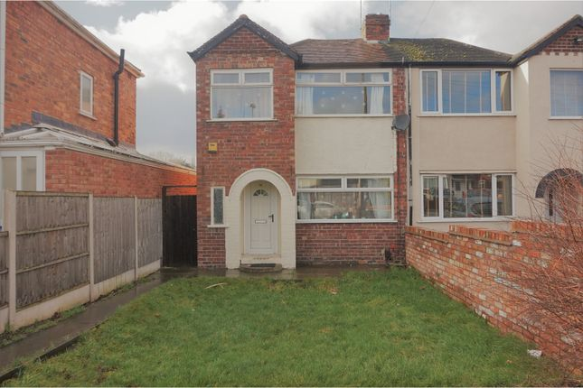 Thumbnail Semi-detached house for sale in Glendon Road, Birmingham