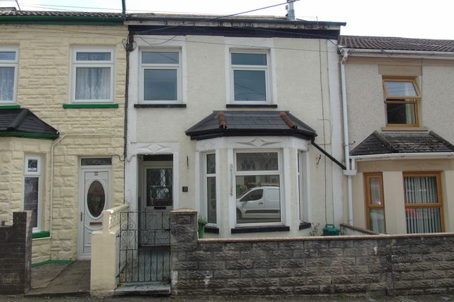 Thumbnail Terraced house for sale in Kingsland Terrace, Treforest, Pontypridd