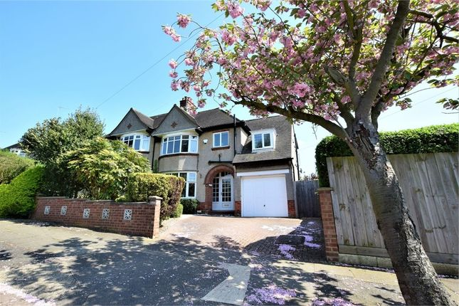 Thumbnail Semi-detached house for sale in Chipsey Avenue, Rushmere, Northampton