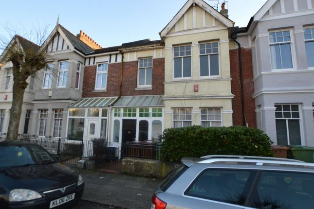 Thumbnail Terraced house for sale in College Avenue, Plymouth, Devon