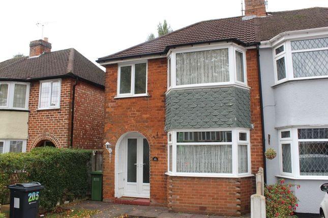 Thumbnail Semi-detached house for sale in Aldershaw Road, Birmingham
