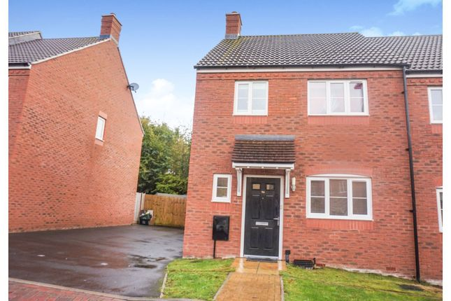 Thumbnail End terrace house for sale in Grove Gate, Taunton