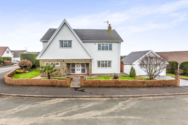 Thumbnail Detached house for sale in Penywaun, Efail Isaf, Pontypridd