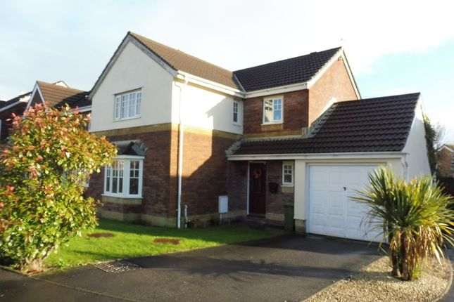 Thumbnail Detached house for sale in Springfield Gardens, Hirwaun, Aberdare