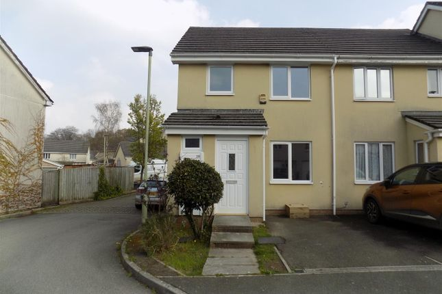 Thumbnail 3 bed end terrace house to rent in Quarry Fields, Okehampton