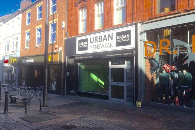 Thumbnail Retail premises to let in 175 Friargate, Preston, Lancashire