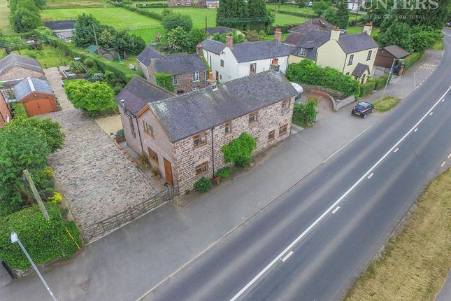 Thumbnail Detached house for sale in Scraggs Cottage, Cheadle Road, Cheddleton, Leek