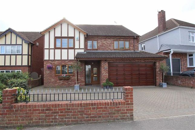 Thumbnail Detached house for sale in Daws Heath Road, Rayleigh, Essex