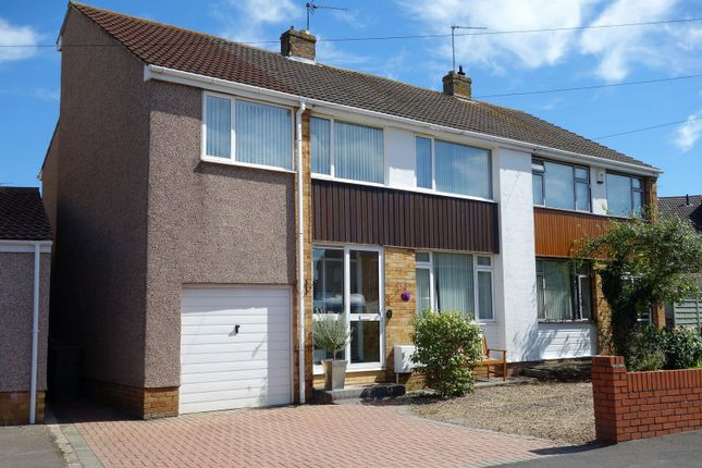 Thumbnail Semi-detached house for sale in St. Peters Crescent, Frampton Cotterell