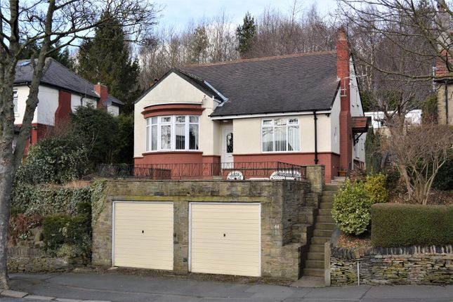 Thumbnail Detached bungalow for sale in Heaton Road, Paddock, Huddersfield