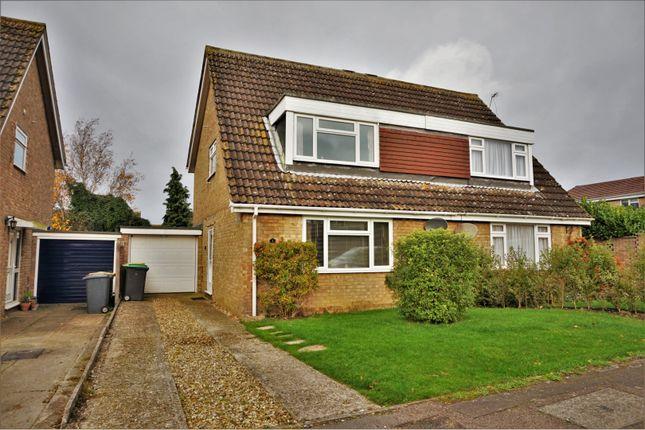 Thumbnail Semi-detached house for sale in Lincroft, Oakley