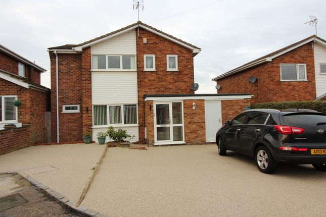 Thumbnail Detached house for sale in Wagtail Close, Bradwell