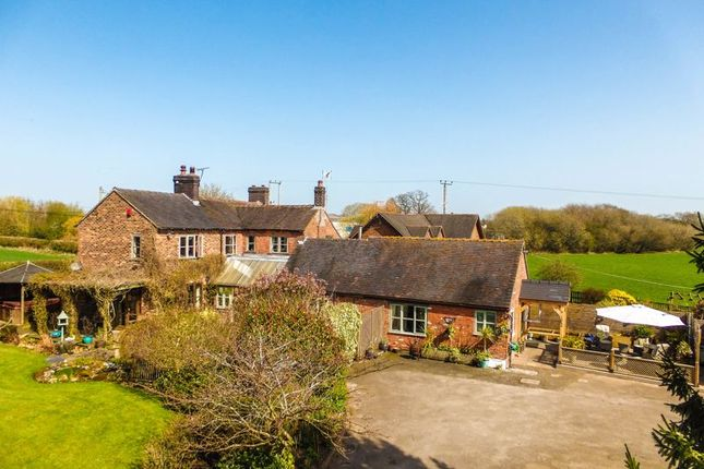 Thumbnail Equestrian property for sale in Churchfields, Newcastle Road, Woore, Crewe