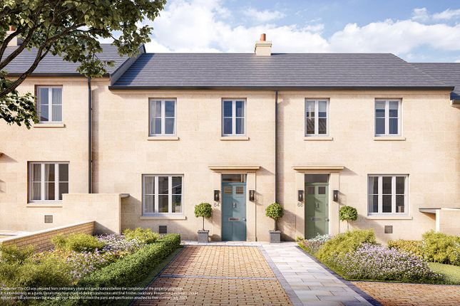 Thumbnail Terraced house for sale in The Foxcote At Holburne Park, Warminster Road, Bath