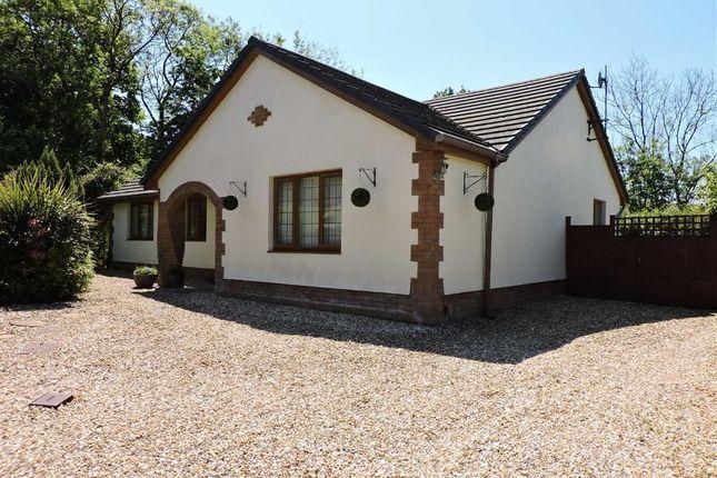 Thumbnail Detached bungalow for sale in Croesyceiliog, Carmarthen