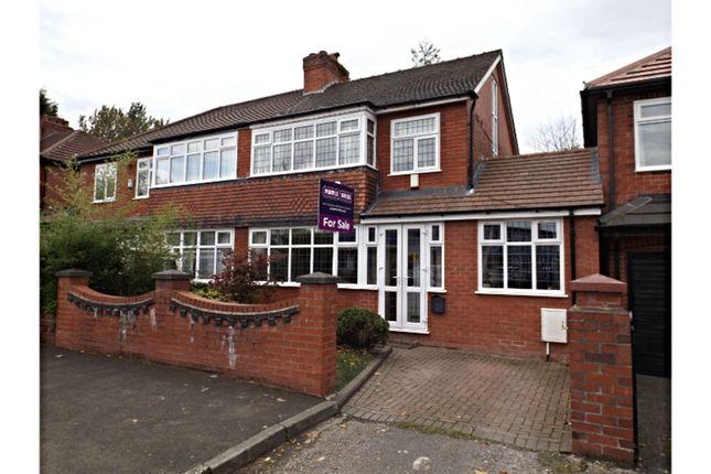 Thumbnail Semi-detached house for sale in Norman Road, Ashton-Under-Lyne
