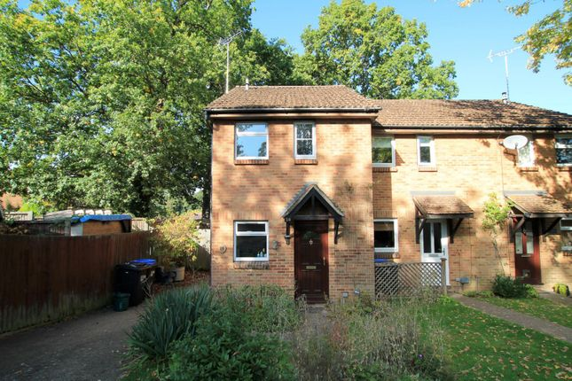Thumbnail End terrace house to rent in Wych Hill Park, Woking
