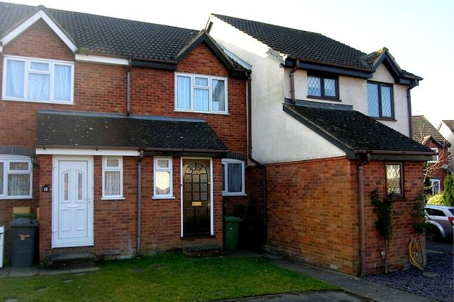 Thumbnail Terraced house to rent in Finch Close, Tadley, Hampshire