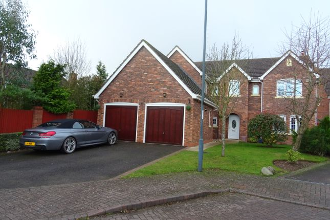 Thumbnail Detached house to rent in Sandringham Close, Westwood Heath, Coventry