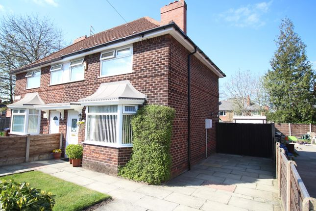 Thumbnail Semi-detached house for sale in Nuffield Road, Manchester