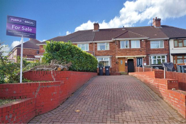 Thumbnail Terraced house for sale in Streetly Road, Birmingham