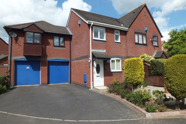 Thumbnail Terraced house to rent in Wilton Way, Barton Grange, Exeter, Devon
