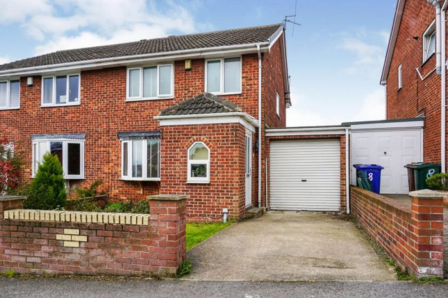 Thumbnail Semi-detached house for sale in Newlyn Drive, Barnsley