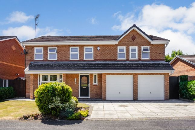 Thumbnail Detached house for sale in Rawcliffe Close, Widnes